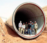 A controversial hydraulic project