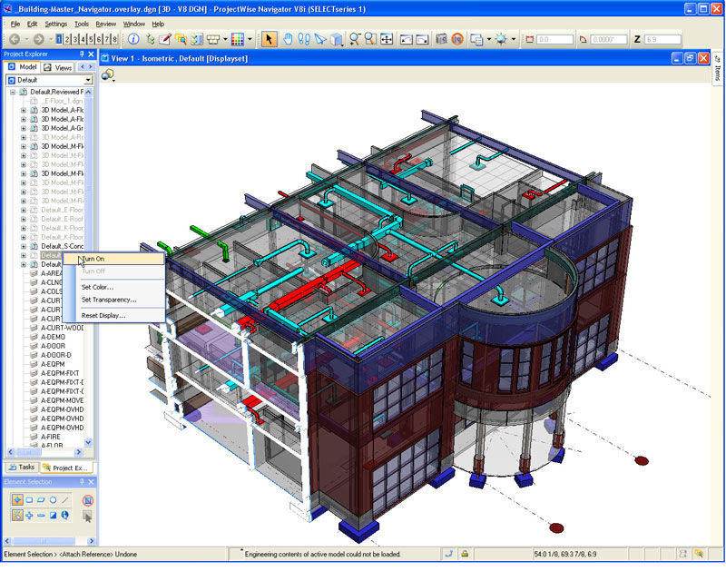 BIM aplicado a obra civil con software Bentley