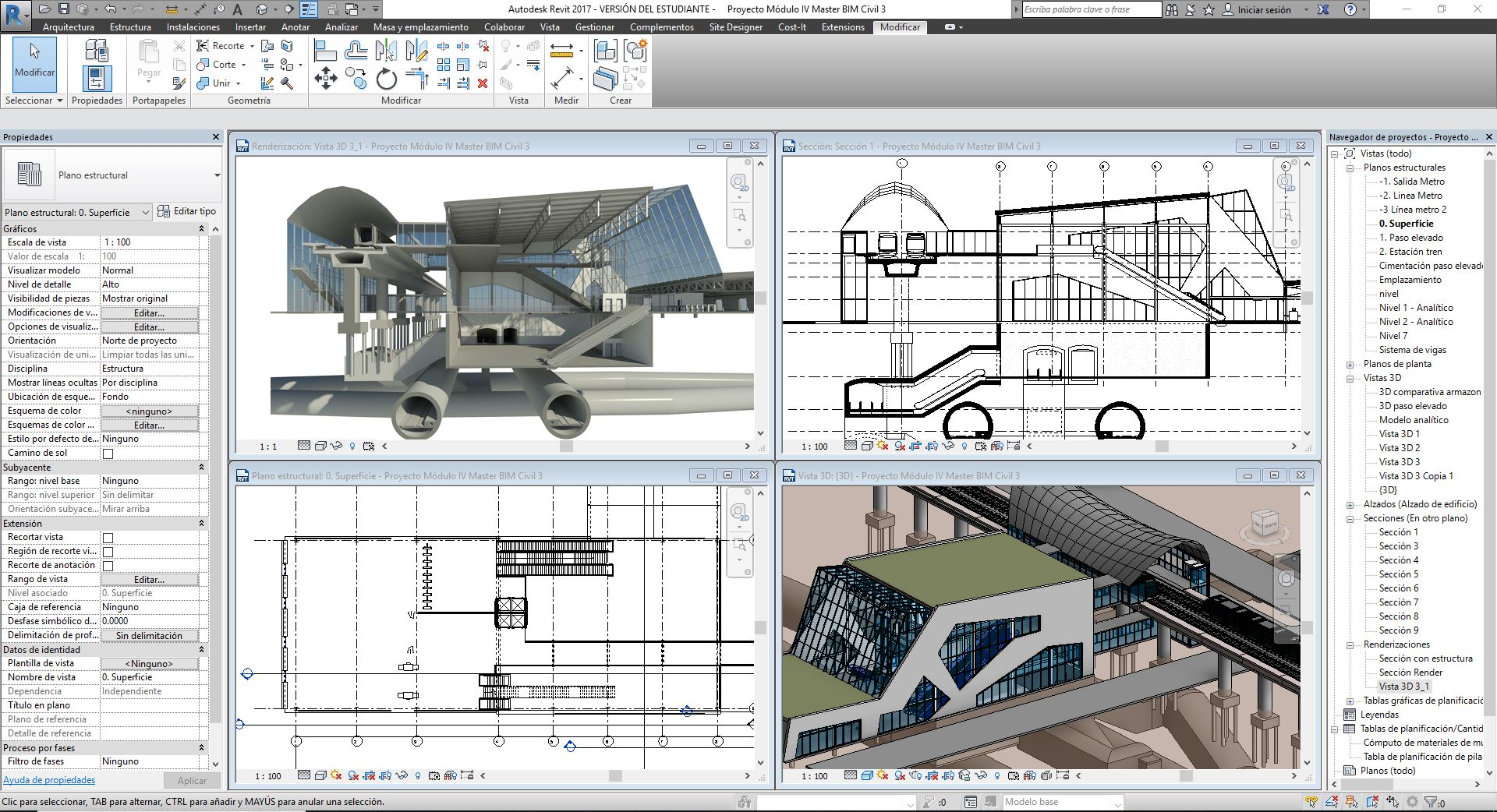 Curso de revit architecture eadic for Curso arquitectura software