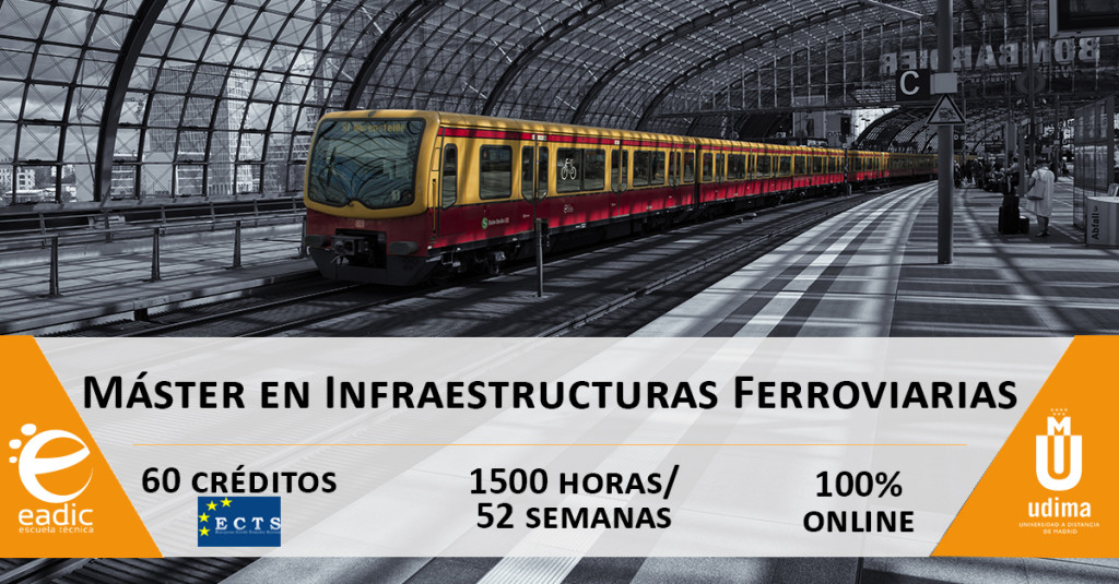Máster en Infraestructuras Ferroviarias